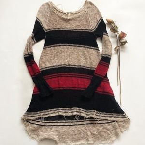 Free People Block Long Sweater